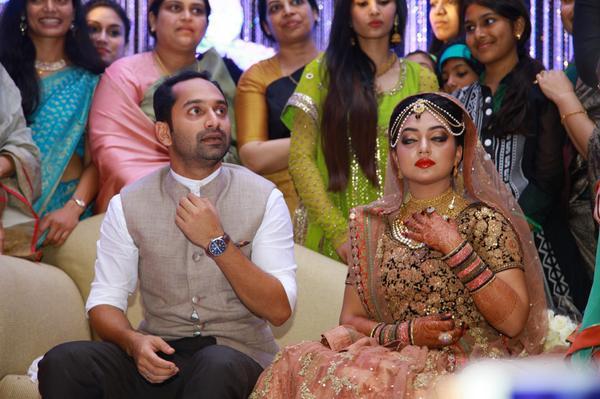 Actor Nazriya Nazim Wedding Photos And Nazriya Nazim Wedding