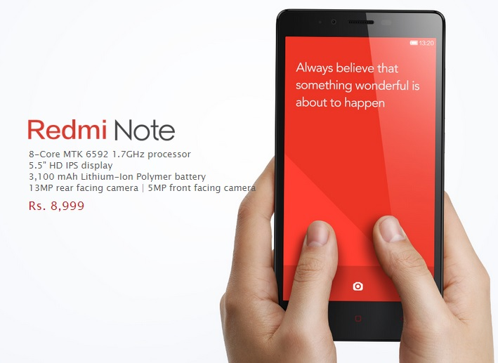'Xiaomi Redmi Note' Review, Price and Features