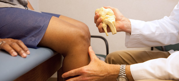 Knee injection for knee replacement patients make them walk same day