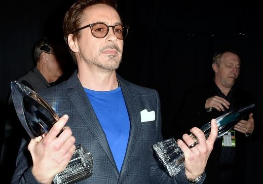 Robert Downey Jr wins double trophies at People's Choice Awards