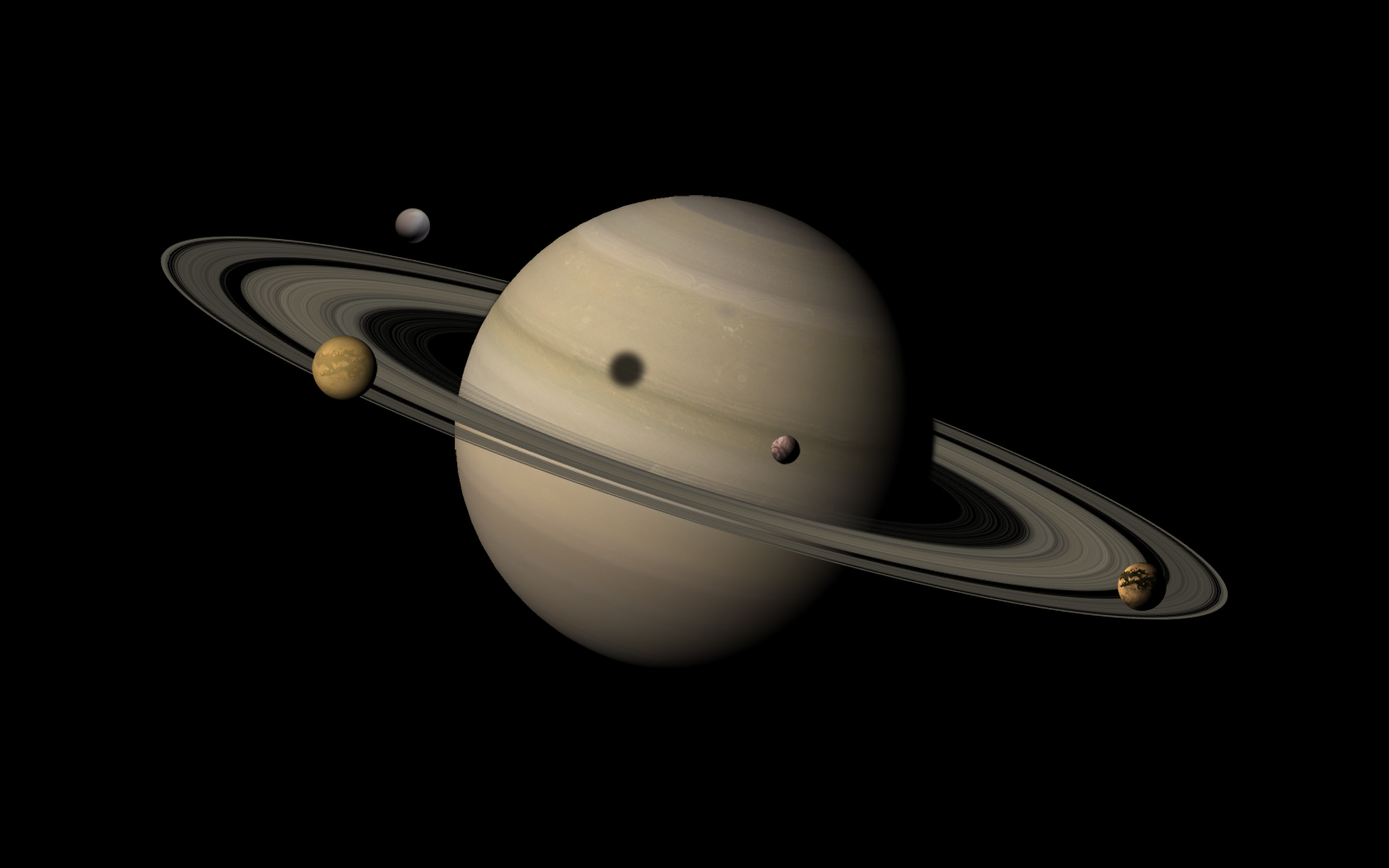 planet and saturn Saturn is the sixth planet from the sun and the second-largest in the solar system, after jupiter it is a gas giant with an average radius about nine times that of earth.