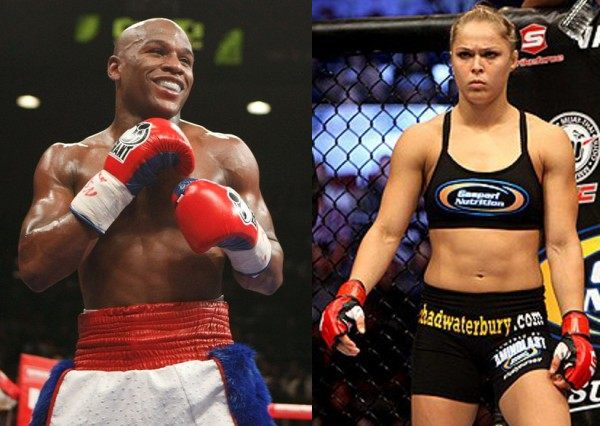 Ronda rousey would beat floyd mayweather says manny pacquiao