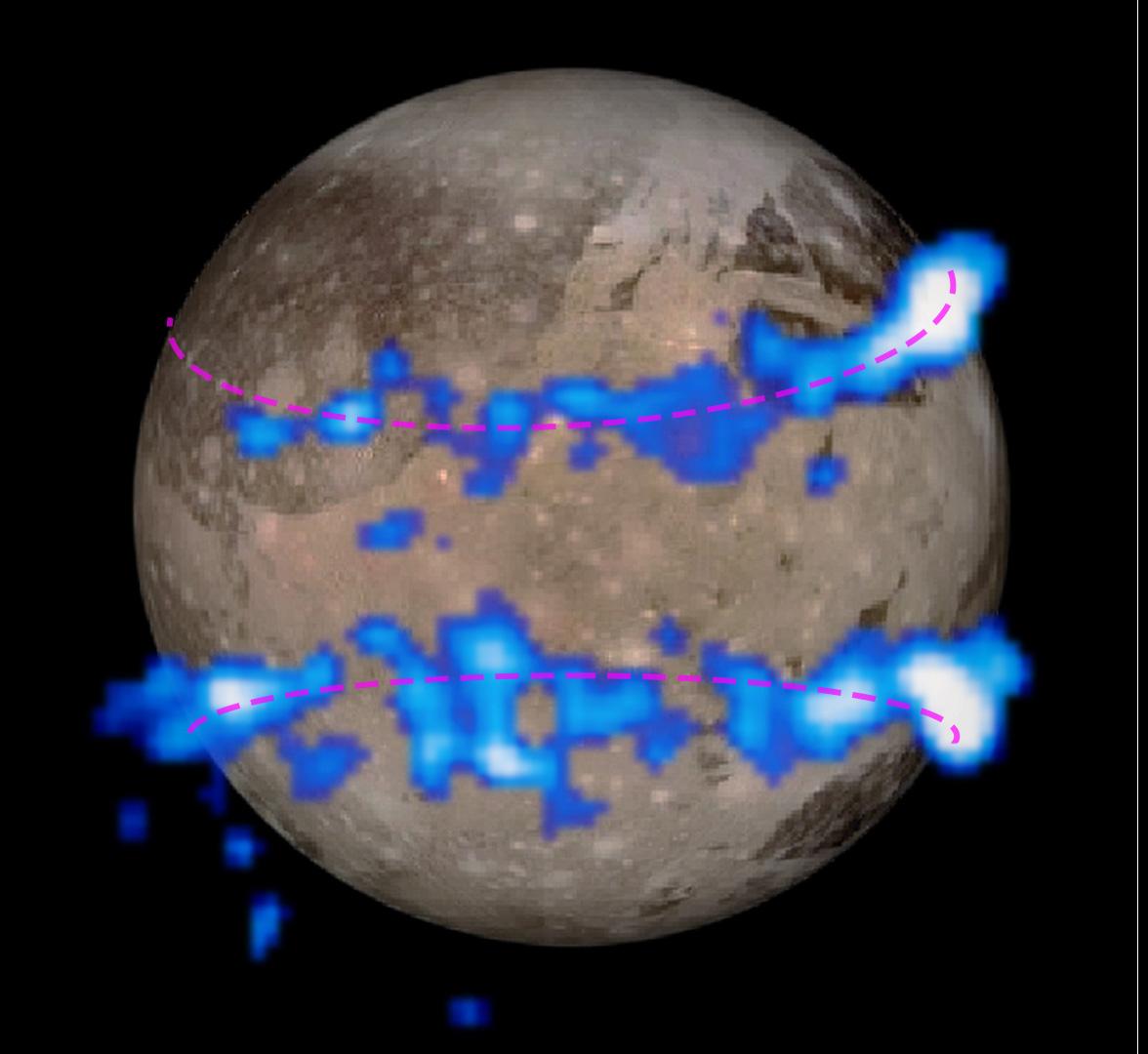 ganymede-auroral-belts-hst-jupiter-moon