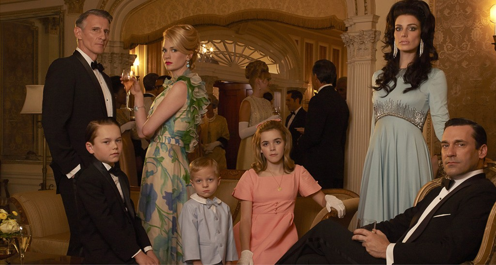 Popular TV show 'Mad Men' makes a final return on AMC