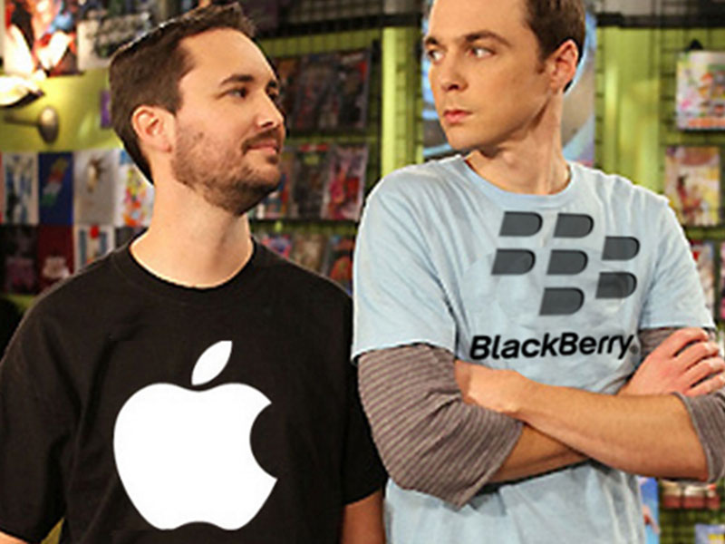 Apple Inc. To Acquire Blackberry? Stock Rises By six percent