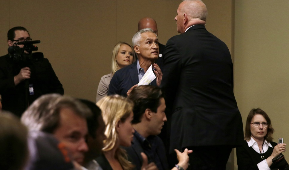 News anchor Jorge Ramos ejected from Donald Trump news conference