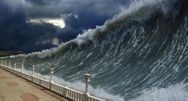 Massive tsunami may be about to slam into Hawaii