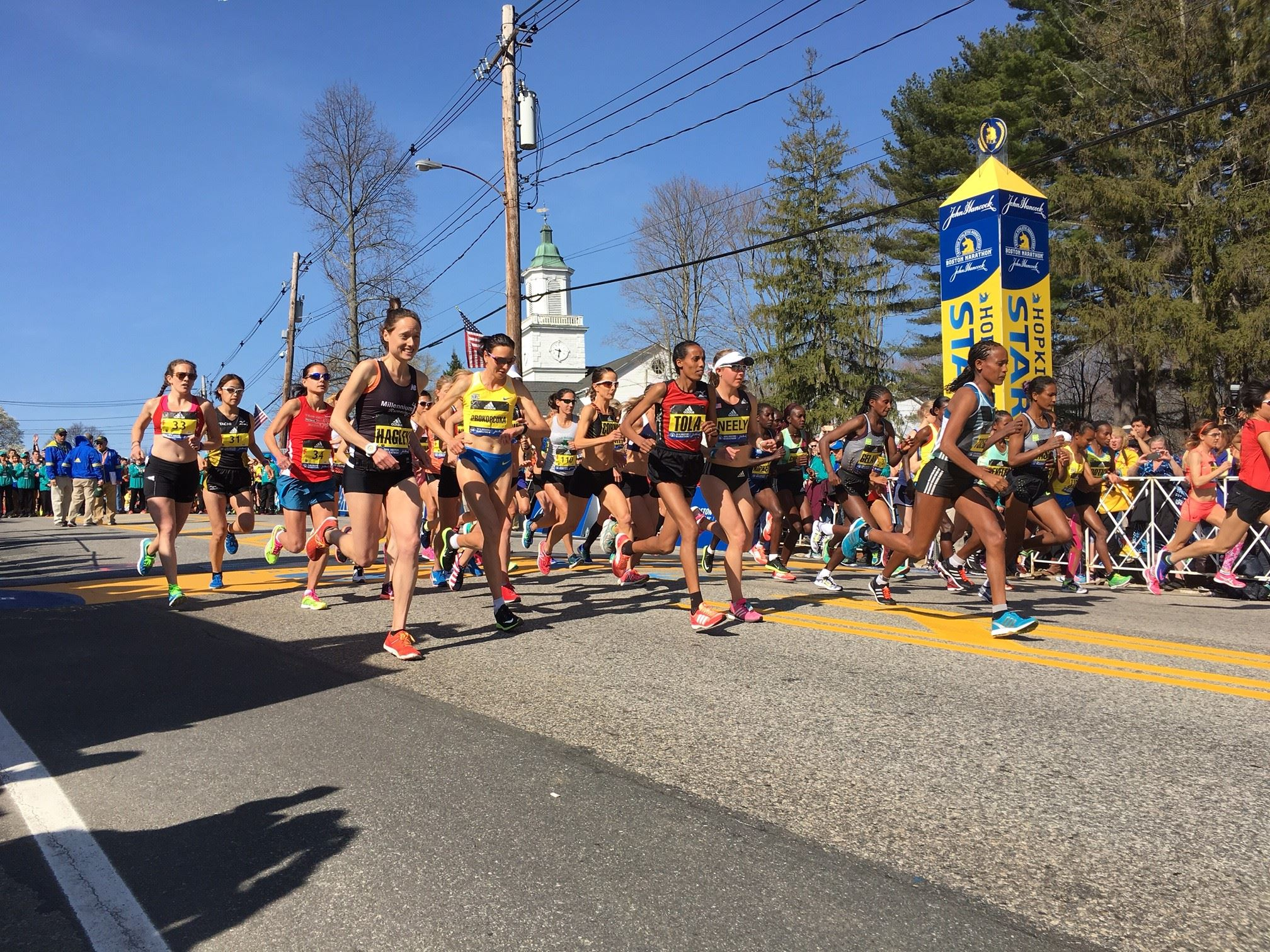 Boston Marathon results