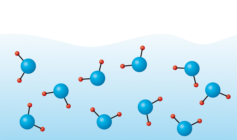 water molecules solid liquid gas and now something else that s