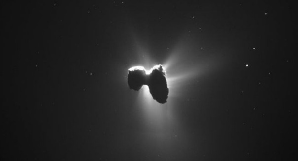 Comet discovery stuns scientists
