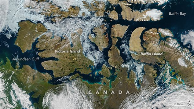 Ice in Canada's Northwest Passage has vanished