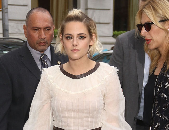 Fame and stress made Kristen Stewart puke every day
