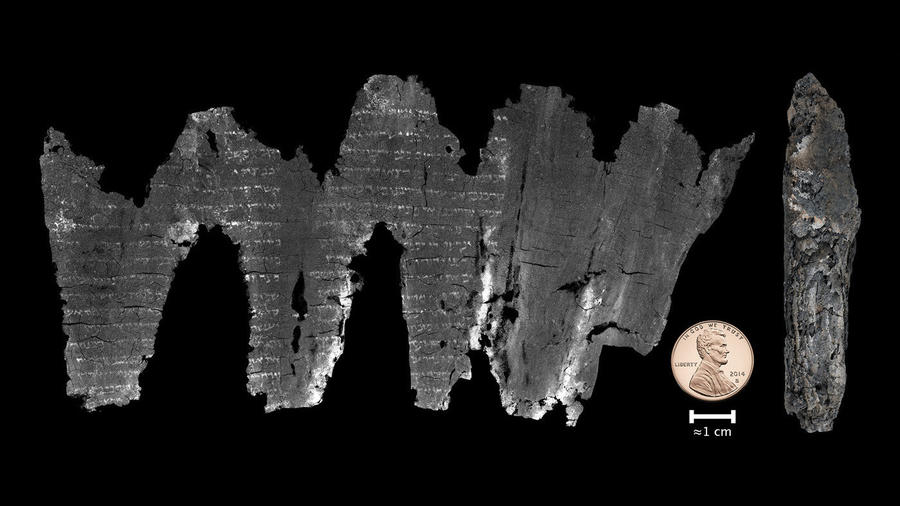 Stunning new technology unlocks ancient biblical scrolls