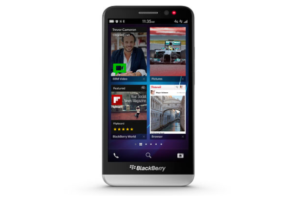BlackBerry Z30 Reveal Generates More Yawning than Yearning – A Bleak Outlook