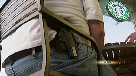 Starbucks Frowns on Firearms, Stops Short of Banning Them