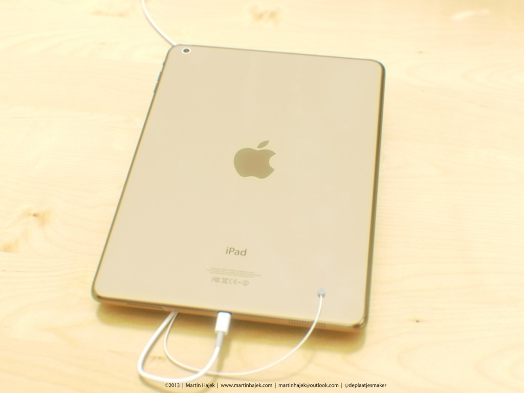 Champagne Gold iPad 5 Render Paints a Pretty Picture…Sort Of