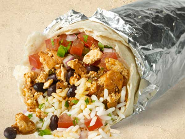 Order Chipotle Sofritas today and win free burritos next month