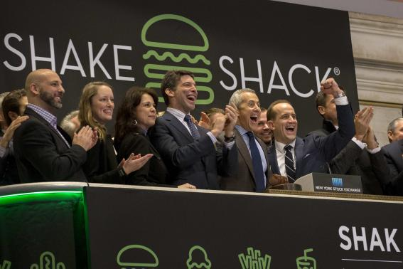 Shake Shack IPO spikes over 130% on debut day at NYSE, company valued at $1.7bn