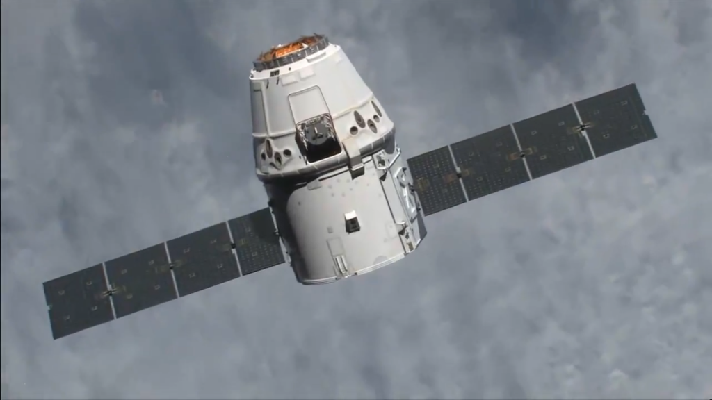 SpaceX dragon delivers fascinating supplies to ISS including a coffee maker