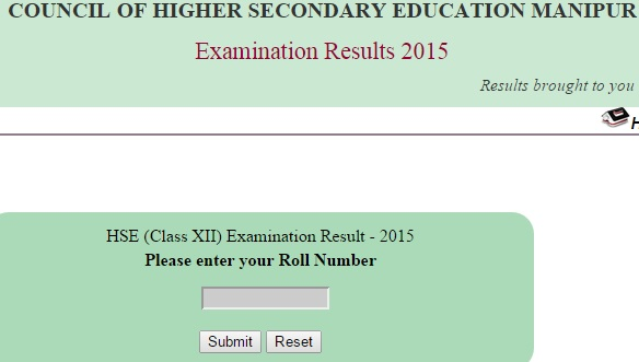 Manipur HSC class 12 result 2015 at manresults.nic.in and bsem.nic.in