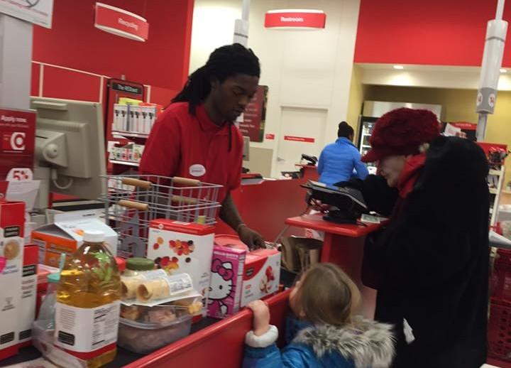 Target employee's kindness to elderly customer goes viral