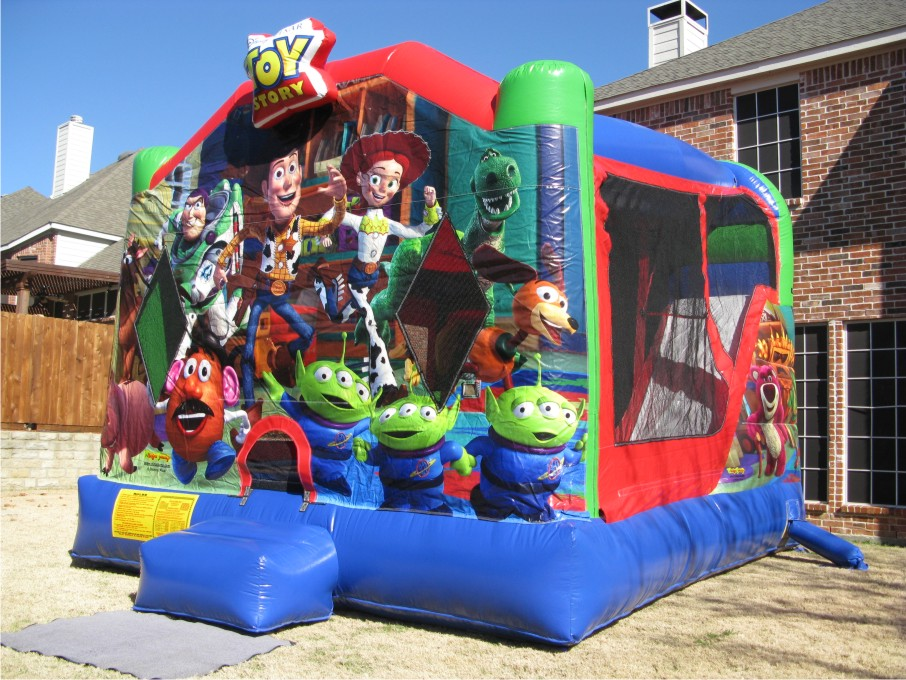 7-year-old girl dies after wind carries bouncy house nearly a mile