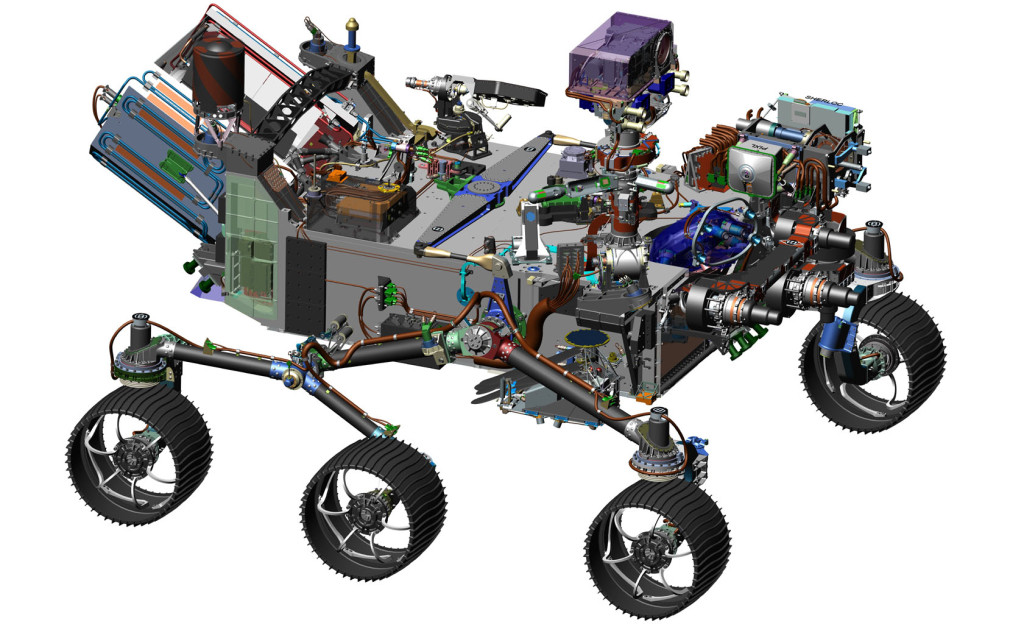 NASA proceeding with final design and construction of Mars 2020 rover