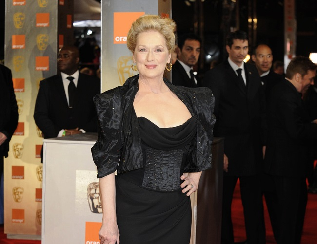 Meryl Streep is an avid swimmer